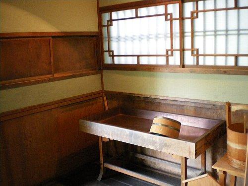 椿寿荘 水屋