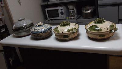 5月1日使用 土鍋セット