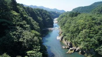 ⑭大橋からの風景