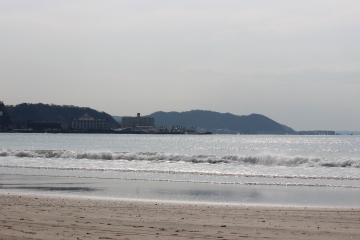 長谷の海岸