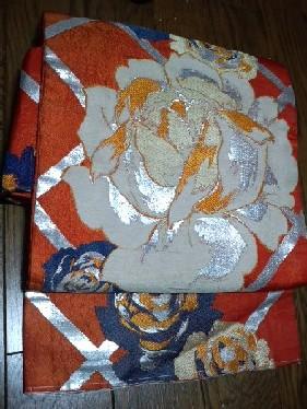 薔薇の織り帯CA1D3RHK