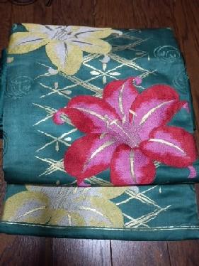 百合の織り帯CAZABXQW