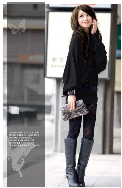 ファッション人気ワンピ◇カーキ  ブラック  グレー3色大3