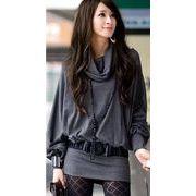 ファッション人気ワンピ◇カーキ  ブラック  グレー3色