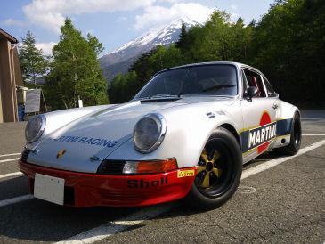 Porsche with Mt.Fuji blog