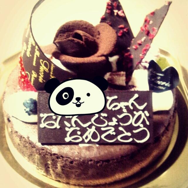 誕生日ケーキ 20120502