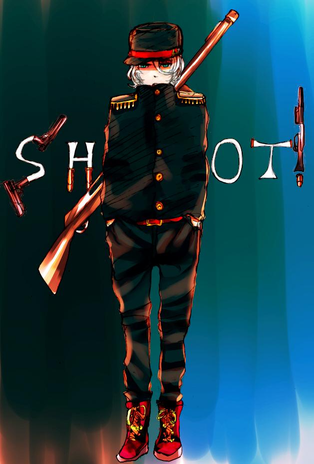 軍人さんSHOT!明るめ加工 120703