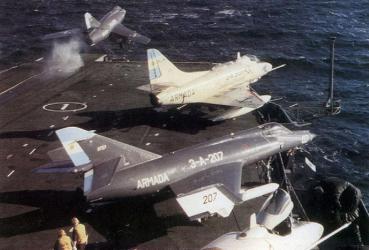 アルゼンチン海軍 空母 「5月25日号」ベインティシンコ・デ・マージョ Veinticinco de Mayo
