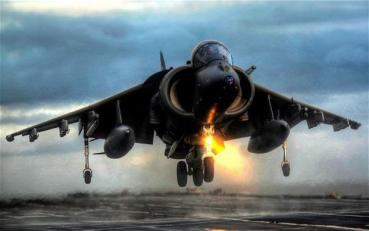 シーハリアー sea harrier in the falklands