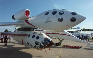 ヴァージンギャラクティック社 スペースシップワン ホワイトナイトワン Virgin_Galactic  white-knight one  space-ship one