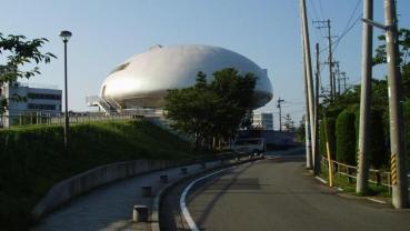 2009年 夏 石巻  石ノ森萬画館