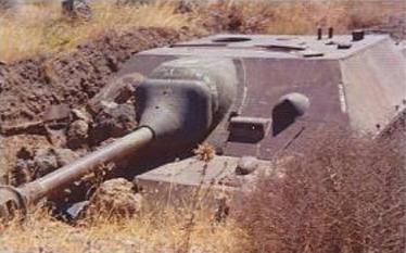 シリア軍 四号駆逐戦車 第三次中東戦争(六日間戦争) ゴラン高原 Jagdpanzer IV Golan Heights