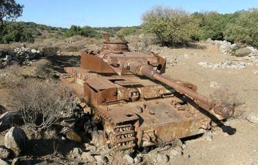 シリア軍 四号戦車J型  ゴラン高原