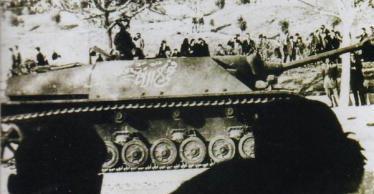 シリア軍 四号駆逐戦車 ゴラン高原 Jagdpanzer IV