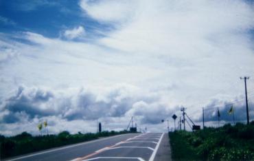 1993年7~8月 北海道 ツーリング 厚田村(石狩市厚田区)戸田記念墓地公園  創価学会