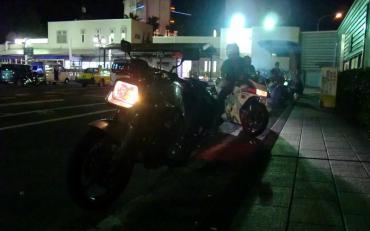 2012年8月16日 KROG (KRオ-ナーズグループ) 第三京浜 ミーティング 初音ミクNSR K-ON GSX750S katana