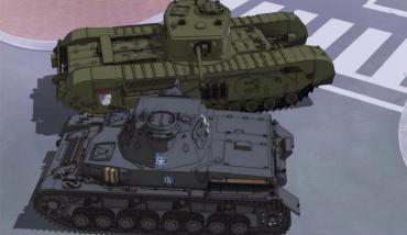 Ⅳ号戦車D型 VS チャーチルMkⅦ