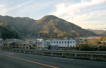 国道52号線(身延道)静岡県清水区小島町(栗原)付近