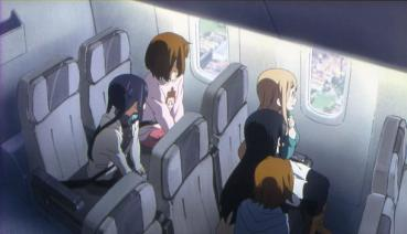 JAL日本航空 K-On! Movie Le film 映画 けいおん!劇場版  地上波初放送