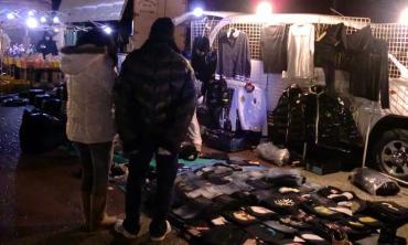 第47回御前崎フリマ(部品交換会) 衣料品 マリンパーク御前崎 2013年正月