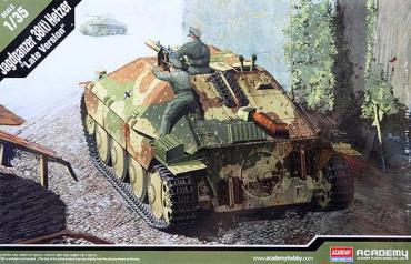 아카데미과학 1/35 헤처 구축전차 アカデミー ヘッツアー 後期型 academy jagdpanzer 38t hetzer