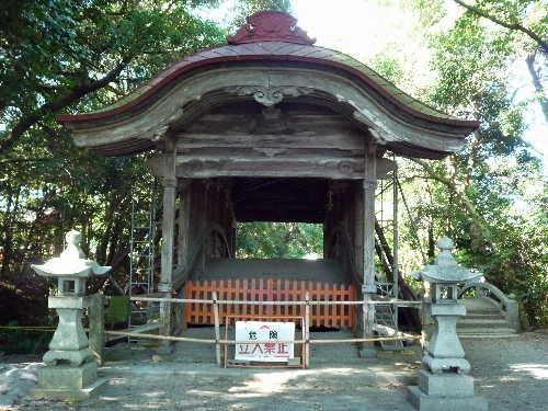 薦神社の御朱印 3