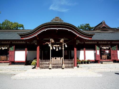 薦神社の御朱印 9
