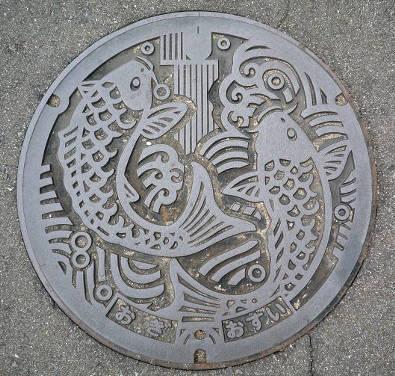 愛しのマンホール131・佐賀県小城市