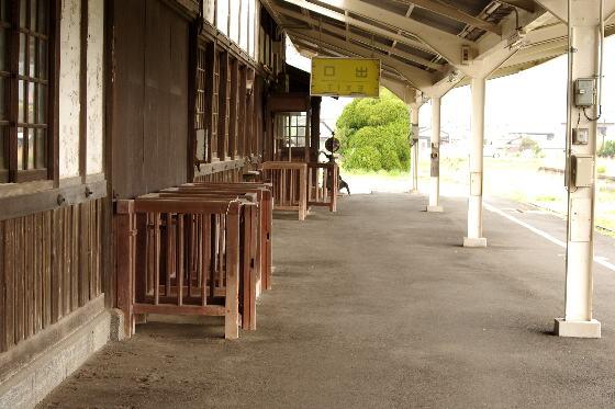 早朝の旧大社駅 5