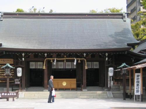 松原神社の「日峯さん」と佐嘉神社の御朱印1