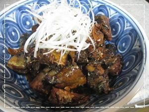 秋刀魚の甘辛煮