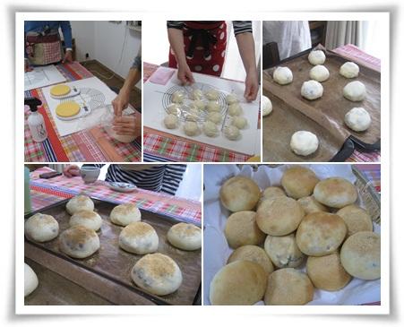 ビーパーティでパン作り