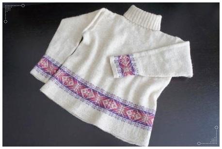 0211フェアイルセーターお直し後-1