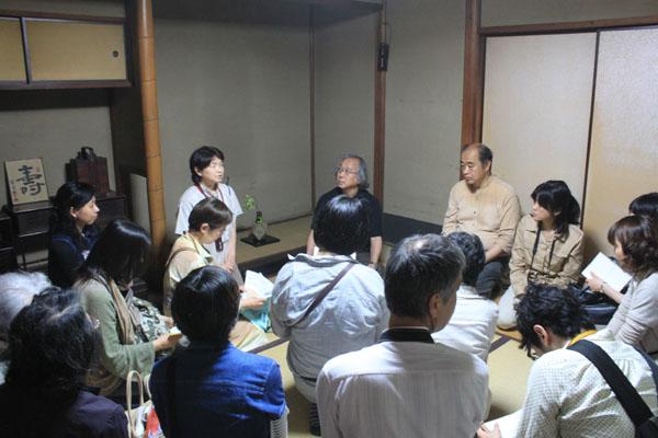 田村邸見学会の様子