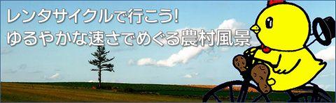 レンタサイクルで行こう!