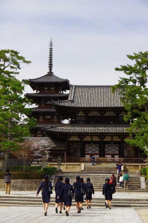 法隆寺 ガイド研修
