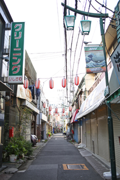 向島の商店街