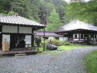 お寺の温泉
