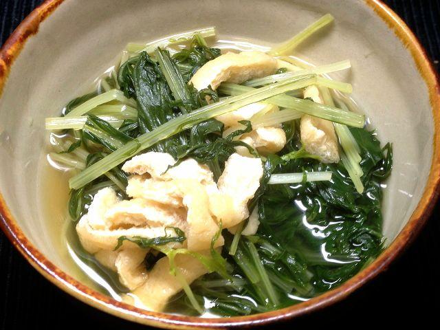 水菜煮浸し