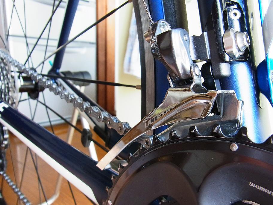 自転車の 自転車 マットカラー : その後、しっかり注油して作業 ...