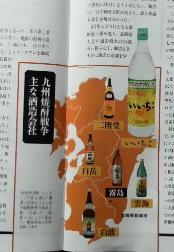 九州焼酎戦争 主な酒造会社