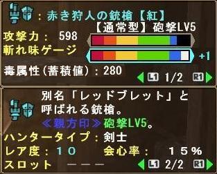 赤き狩人の銃槍【紅】