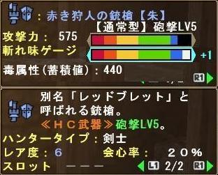 赤き狩人の銃槍【朱】
