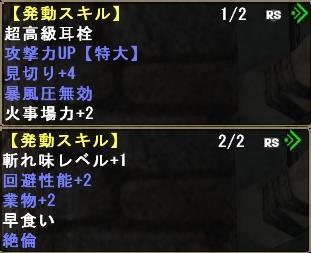 双剣用天嵐スキル