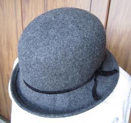今冬1個目の帽子