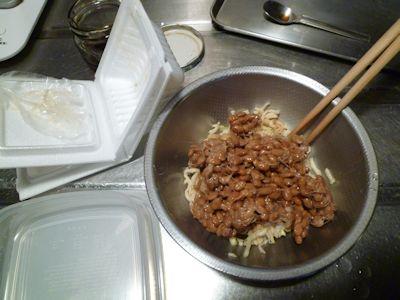 そぼろ納豆を作る4