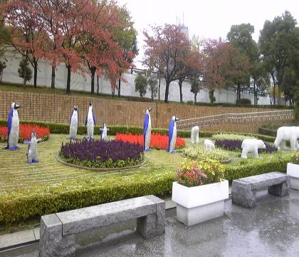 天王寺公園ペンギン