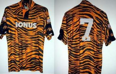 hull city tiger kit