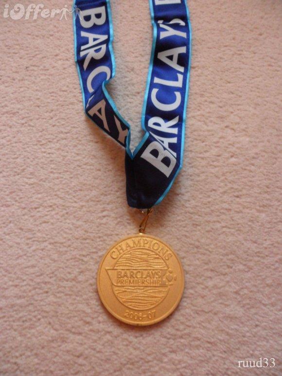プレミア優勝メダル