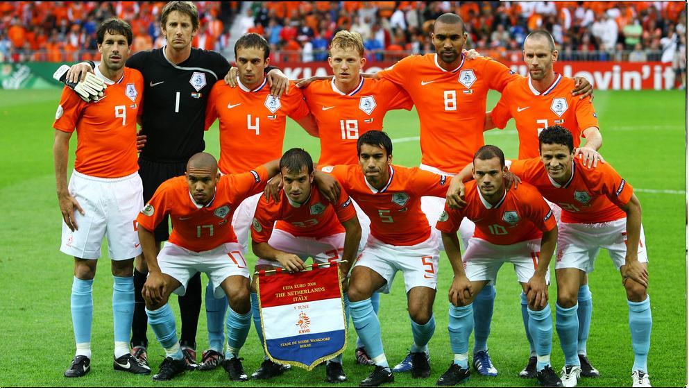 オランダのホーム・ユニフォーム